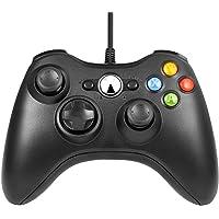 Xbox 360 Mando de Gamepad, Mando PC, Mando Xbox 360 con Vibración, Controlador de Gamepad para Xbox 360 Mando para PC…