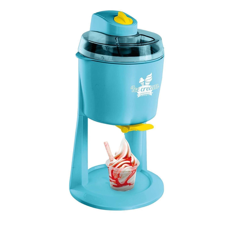 Máquina de hielo helado Automat helado eléctrica 1200 ml (Heladera, llano Heladera, Sorbet, yogur, turquesa): Amazon.es: Hogar