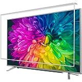 Etiasglass 55 inç (140 Ekran) Led Tv Ekran Koruyucu, Şeffaf