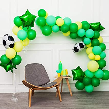 Amazon Com Partyb0 Football Theme Party Decoration Balloon Set
