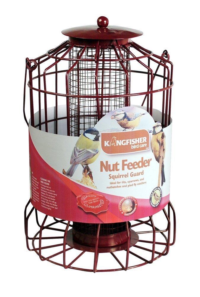 BF007FB Kingfisher Squirrel Guard Fat Ball Feeder Bonnington Plastics Ltd