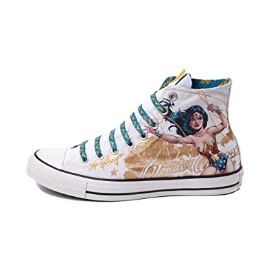 7b978ced2e36 Converse All Star Hi Wonder Woman Sneaker CT HI Shoes DC Comics (3 Men Women  5)  Amazon.co.uk  Shoes   Bags