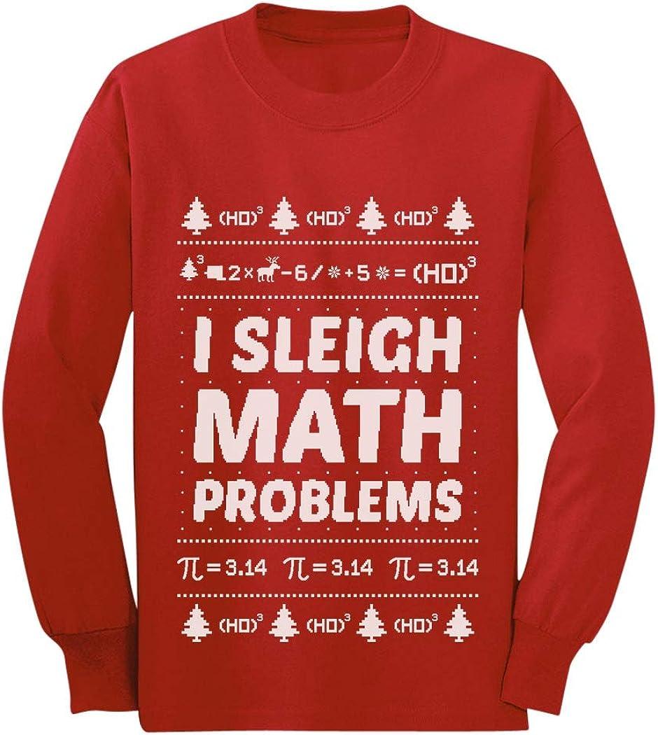"""""""I Sleigh Math Problems"""" Teacher Sweater"""