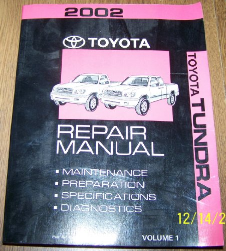 Best Toyota Tundra Repair Manual 2002  March 2020   U2605 Top