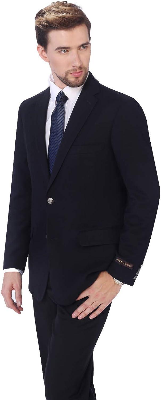 P&L Men's Premium Stretch Classic Fit Sport Coat Suit Jacket Blazer