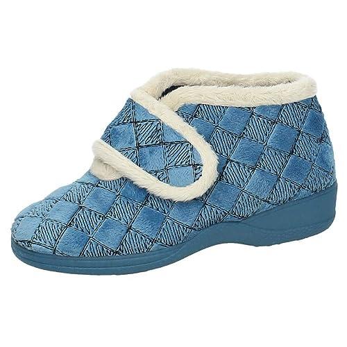 KOKIS 82837 Botitas Invierno Mujer Zapatillas CASA AZULÓN 37