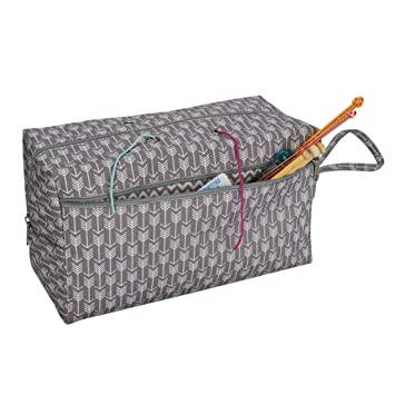 Amazon.com: Yafeco Portable Knitting Bag Yarn Storage ...