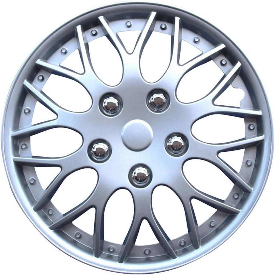 Satz Radzierblenden Missouri 15 Zoll Silber Auto