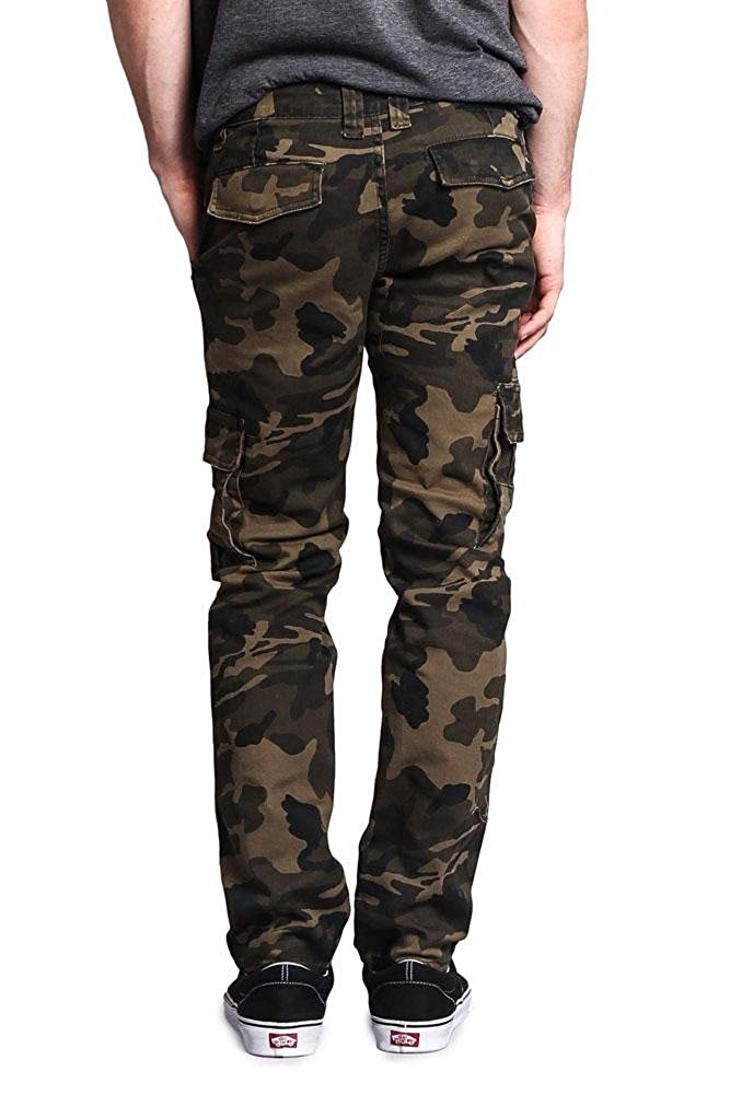 91cc4e8812540f ... Cargo Camo Victorious G-Style USA Mens Camouflage Skinny Skinny Skinny  Fit Jeans 51ed56 ...