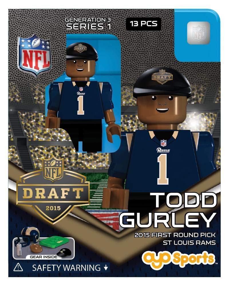 St. Louis Rams 2015 NFL G3 Draft Oyo Mini Figure Todd Gurley OYO Sportstoys Inc.