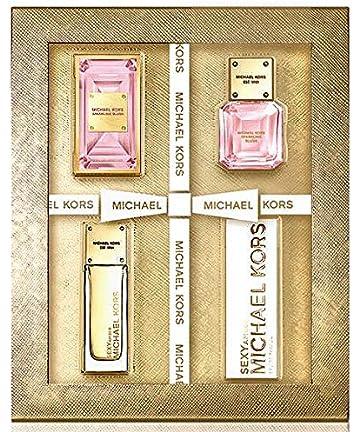 1126b7d8532c Amazon.com   Michael Kors Deluxe Duo Set - Sexy Amber EDP + Sparkling Blush  EDP 0.14 fl oz   Beauty