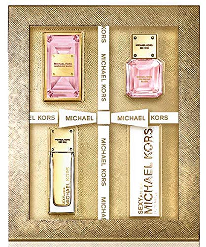 (Michael Kors Deluxe Duo Set - Sexy Amber EDP + Sparkling Blush EDP 0.14 fl)