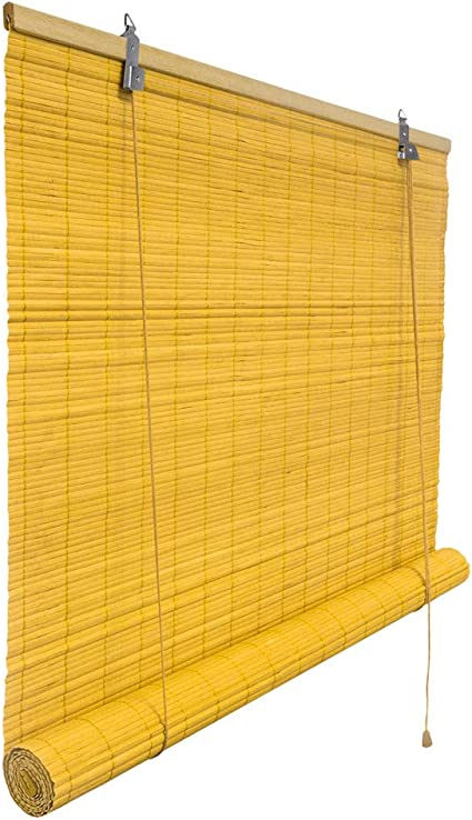 Montaje sin perforaci/ón Victoria M Klemmfix Persiana Estor de bamb/ú 60 x 160 cm Color bamb/ú