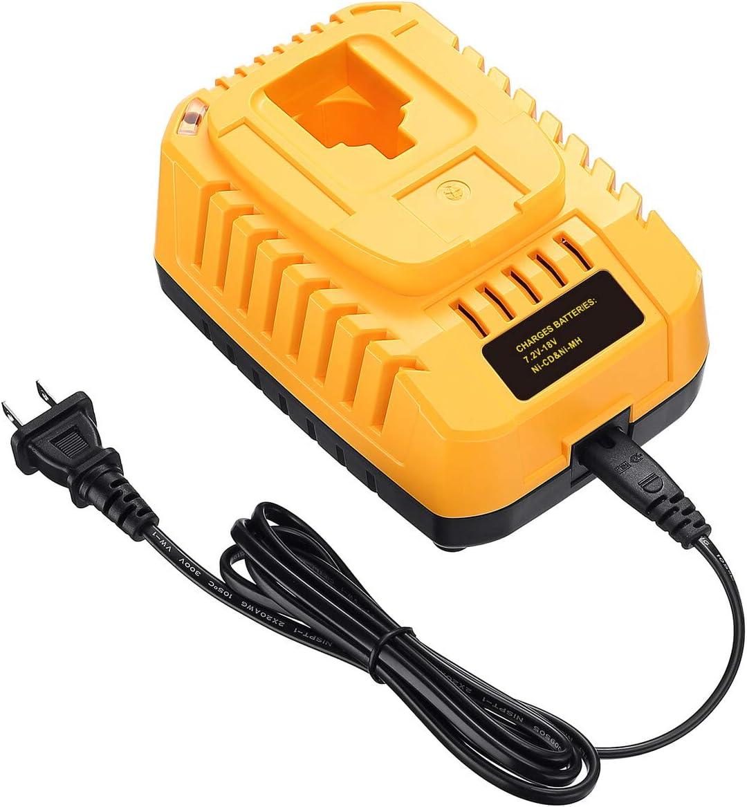 DC9310 Fast Battery Charger for DEWALT XRP 7.2V-18V NiCad NiMh Battery DC9096 DC9098 DC9099 DC9091 DC9071 DE9057 DW9096 DW9094 DW9072 DW9116