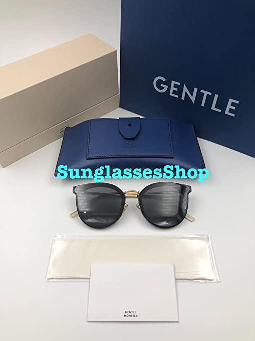 f5055d0be521 Amazon.com   Gentle Monster Sunglasses Merlynn Black Frame Black Zeiss  Lenses With Original Package Sets   Everything Else