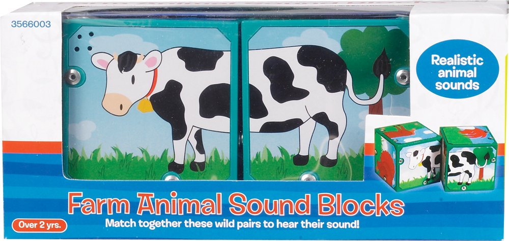 Magic Sound Blocks Small World Toys Neurosmith Farm Animals 3566003