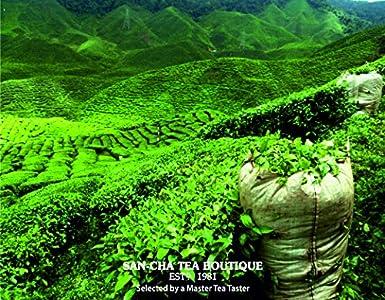 Té de hojas orgánicas sueltas San-Cha, de Darjeeling Assam ...