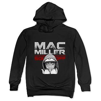 m07h hombre sudaderas con capucha Mac Miller nueva Rap música Star negro: Amazon.es: Deportes y aire libre