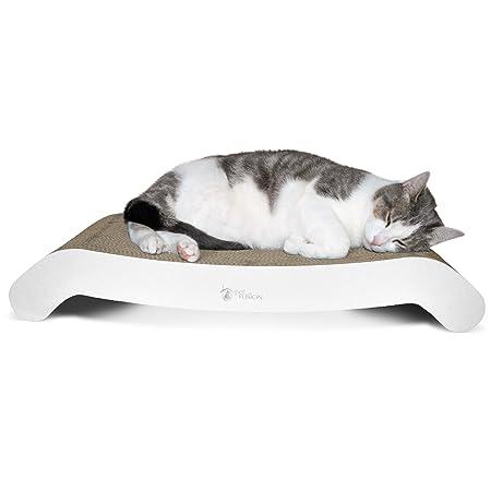 Lounge Convertible para Arañazos de Gatos de PetFusion (69 x 26 x 11.5 CM): Amazon.es: Productos para mascotas