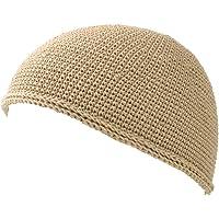 Casualbox Mens Kufi Beanie Hat - Hand Made Cotton Prayer Cap