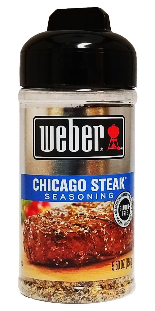 Weber Chicago Steak Seasoning, 5.5 oz (Pack of 4)