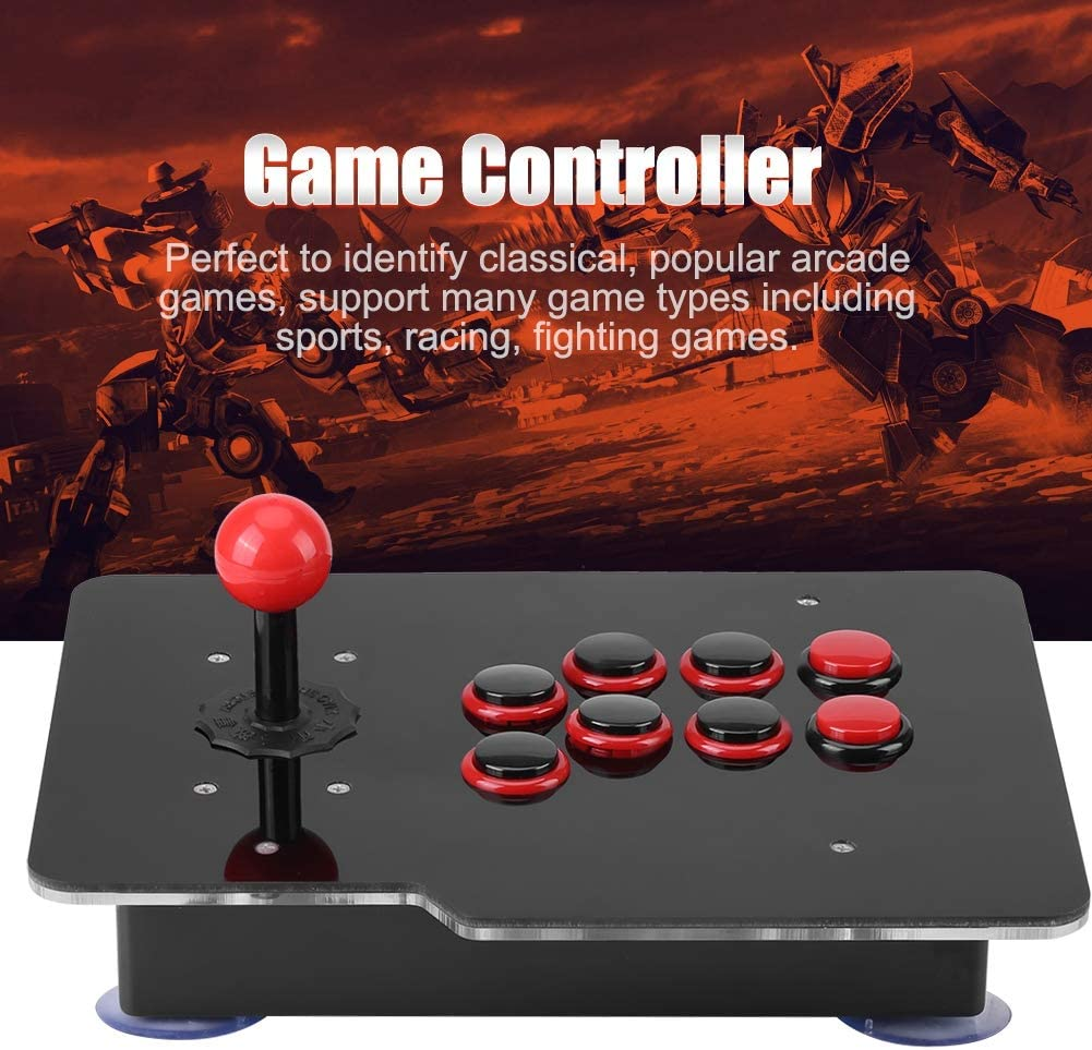 HEEPDD Arcade Wired Fighting Joystick USB Fighting Stick Game Controller para PS3 PS4 Xbox One PC