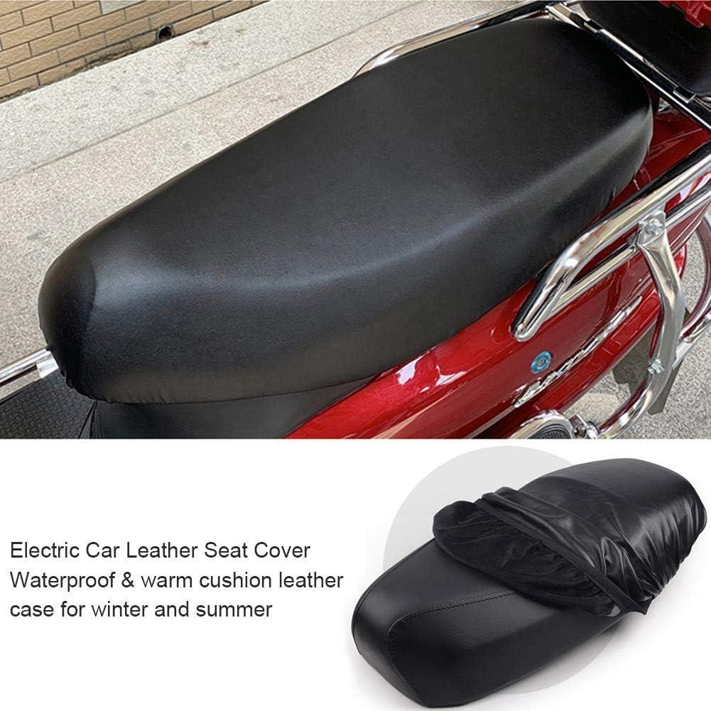 Cubierta Asiento Motocicleta Motorcycle Seat Cover Resistente Desgaste Impermeable Universal Moto Scooter Protector Cubierta Asiento Cuero El/ástico,Se Adapta A La Mayor/ía De Las Motocicletas Scooter