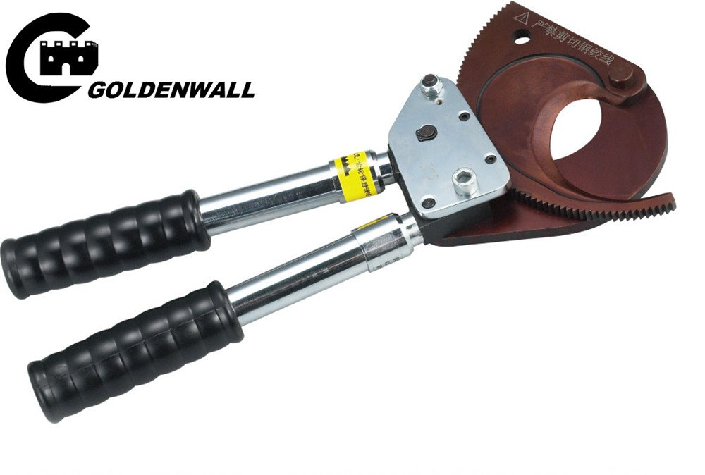 CGOLDENWALL J13 J40 J50 J75 J95 DIY工具 作業工具 切断工具 カッター ラチェットケーブルカッター  (J75) B074GRY2X9