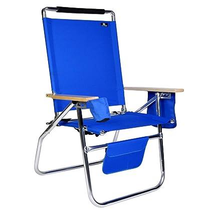 Terrific Deluxe 17 Inch High Seat Aluminum Beach Chair Interior Design Ideas Pimpapslepicentreinfo