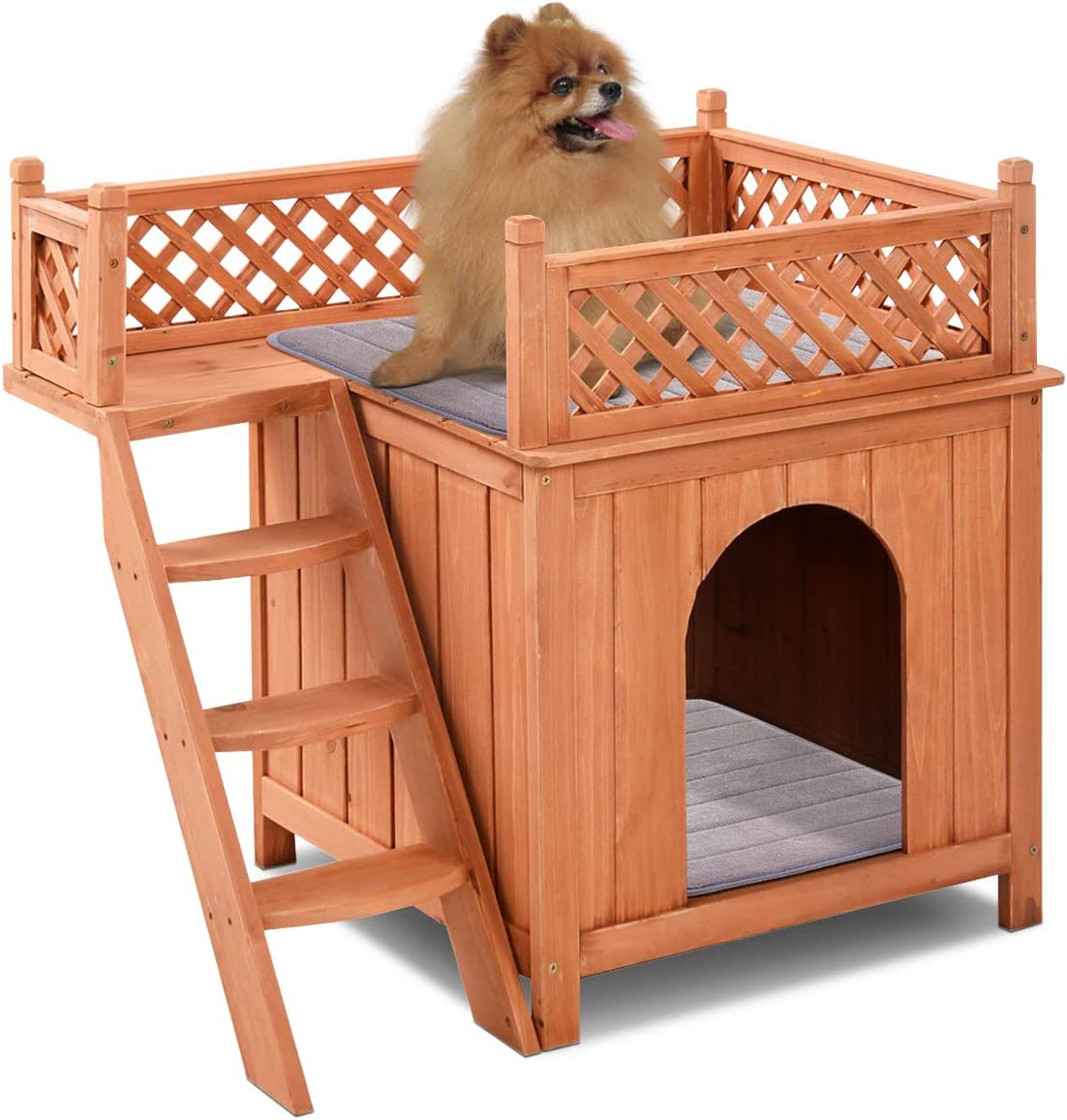 PETSITE Wooden Pet Dog House