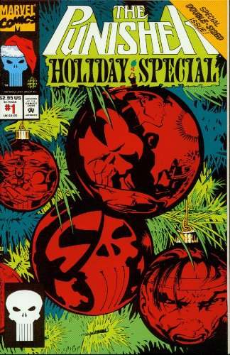 The Punisher Holiday Special #1 Red Foil Cover