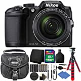 Cheap Nikon Coolpix B500 16MP Digital Camera Black + Accessories & Extra Batteries