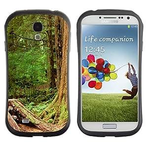 Suave TPU GEL Carcasa Funda Silicona Blando Estuche Caso de protección (para) Samsung Galaxy S4 I9500 / CECELL Phone case / / Plant Nature Forrest Flower 110 /