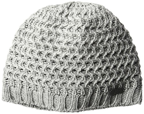 Bula Women's Fishbone Beanie, Heather Medium Gray, One Size