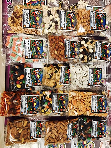 Ultimate Snacks Care Package Variety Pack Trail Mix Oskri Protein Bars Candies Dried Fruits Popcorn For College Kids School Business Military Hospital Non GMO Christmas teacher gift (Popcorn Trail Mix)