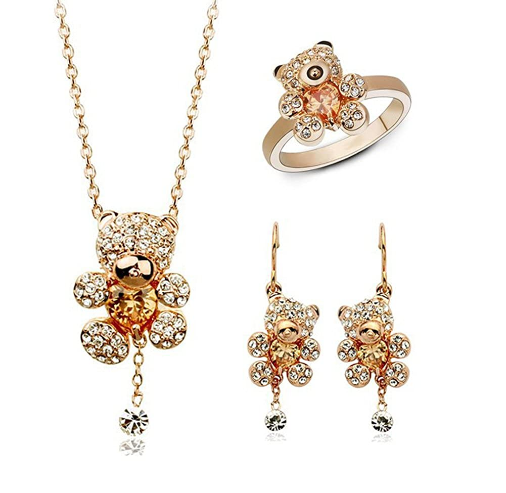 jewelry sets earrings necklace rings jewelry set Richy-Glory