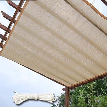 Red de sombreado QINGJIU toldos Exterior Toldo con Filtro Solar Toldo Anti-UV para Patio al Aire Libre Jardín, Arena (Size : 3 * 4m): Amazon.es: Hogar