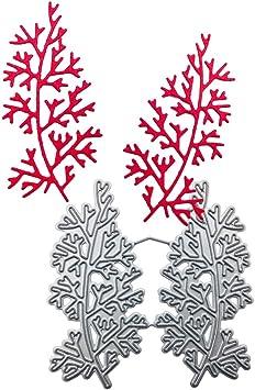 High Quality Leaf Patten Stencil Cutting Dies Hands-on Scrapbooking Album   X