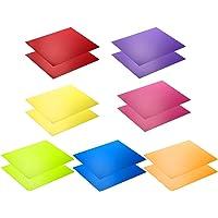 Neewer Kit de 14 piezas Filtro de Gel de Iluminación con 7 Colores Diferentes - 28 x 22 cm Lámina de Corrección de Color…