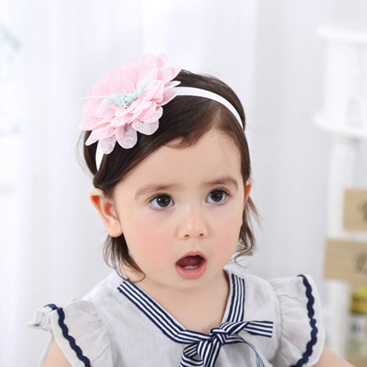 Cute Kids Baby Girl Toddler Dentelle Fleur Cheveux Bande Coiffure Bandeau Accessoires