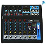 Pyle Professional Audio Mixer Sound Board Console - Desk System...