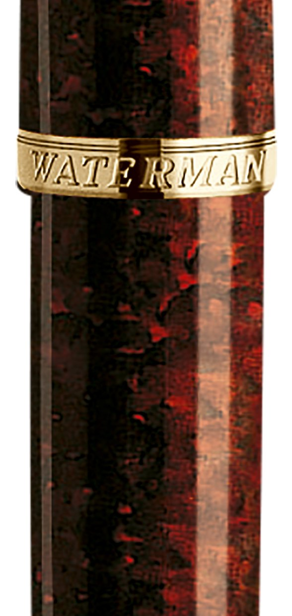 Waterman Carene Amber Shimmer Fountain Pen, Fine Point (S0700860) by Waterman (Image #2)