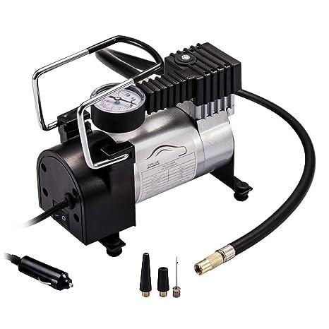 Inflador de neumáticos de coche, compresor de aire, inflador con bomba de aire portátil