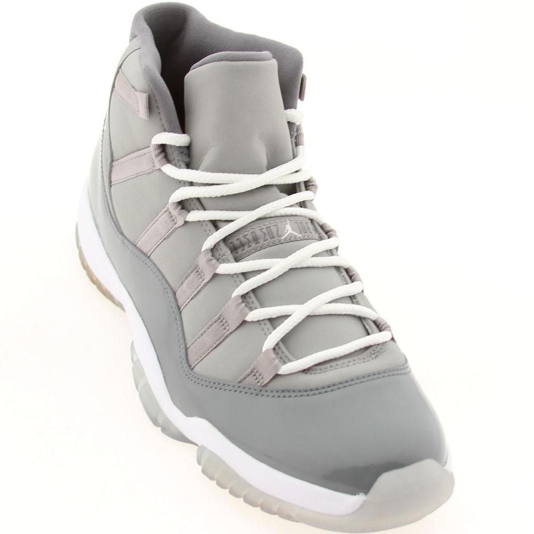 Nike Herren Air Jordan 11 Retro Turnschuhe  12.5|Medium Grey, White-cool Grey