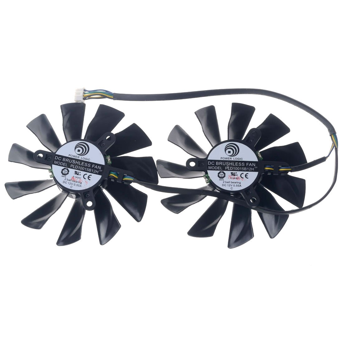 PLD10015B12H 95mm DC12V 0.55A 42mm 4Pin Replacement Graphics Video Card PC Cooling Dual Fan