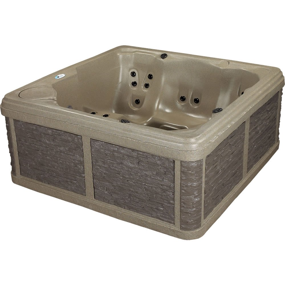 LifeCast Rocksport Hot Tub Portable Spa 28 Jets & Lounge Seat