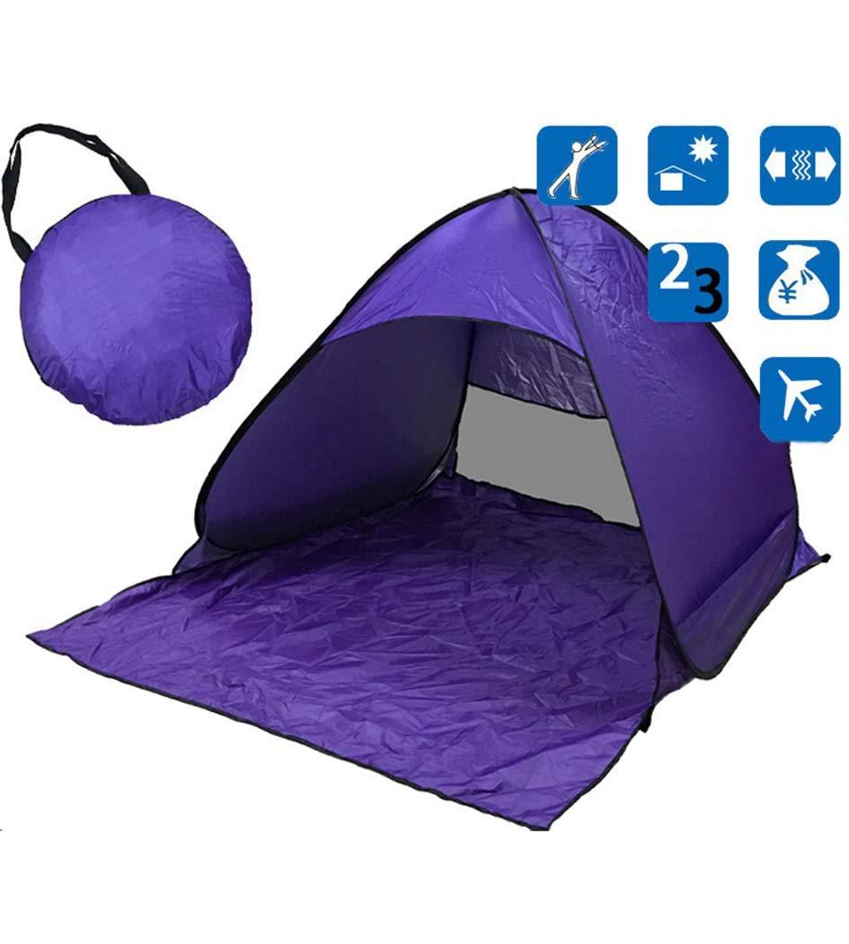 MISS&YG Pop-up-Wand-Zelt, UV-sicher tragbare 1-2 Personen Faltsonnensonne Markise Licht Bergsteiger Camping Camping Camping Camping Camping Rucksack Rucksack-Pop-up-Zelt