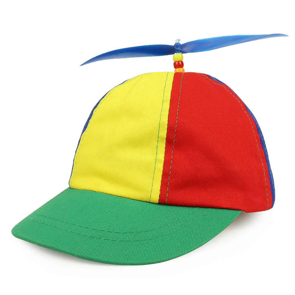 Armycrew Cotton Child's Multi-Color Propeller Helicopter Unstructured Baseball Cap - Multicolor