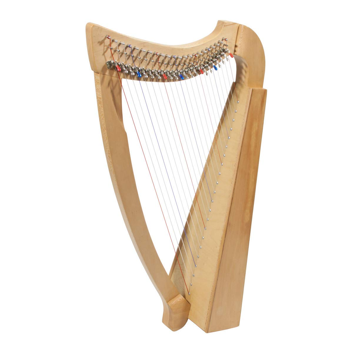 Roosebeck 23-String Heather Harp w/Full Chelby Levers by Roosebeck