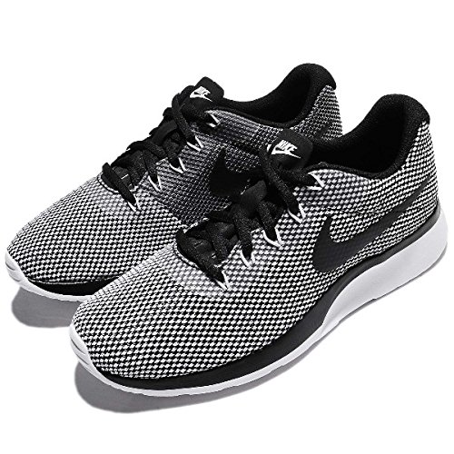 NIKE Womens Tanjun Racer Running Trainers 921668 Sneakers Shoes (UK 6 US  8.5 EU 40, Black White 005)